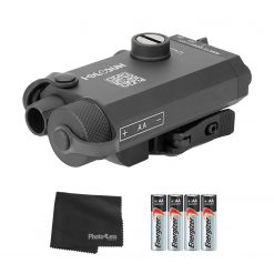 Holosun LS117G Class IIIA Visible Green Laser Sight with QD Release Mount + Batteries and Cloth