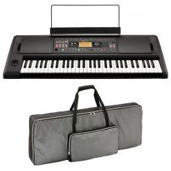 Korg EK-50 L 61-Key Arranger Keyboard with Built-In Speakers + Case