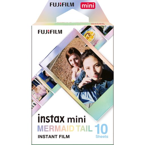 Fujifilm Instax Mini Film - Mermaid 10 Sheets + Instax Mini Pink Lemonade Film 10 Sheets