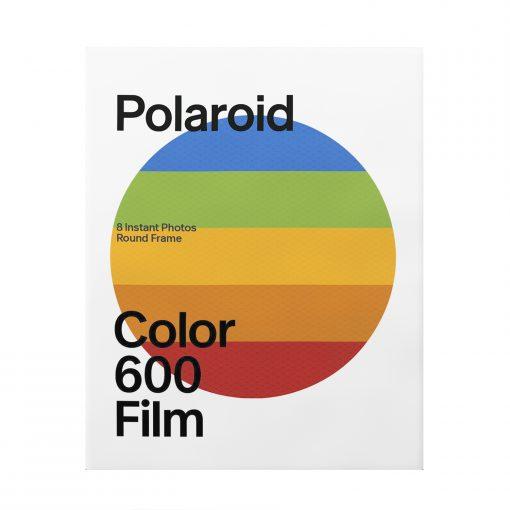 Polaroid Color Film for 600 – Round Frame 8 Frames