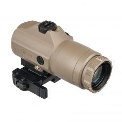 Sig Sauer JULIET4 4X Magnifier, 4x24mm, PowerCam QR Mount - FDE