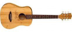 Luna Guitar Safari Bamboo Travel Guitar w/ Gigbag - SAF BAMBOO