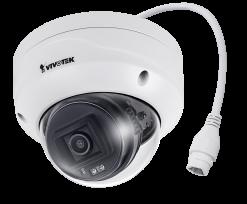 VIVOTEK FD9380-H 5MP 30M IR H.265 Outdoor WDR Pro Dome Camera, IoTSecurity, 3.6mm Lens