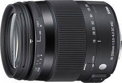 Sigma 18-200mm f/3.5-6.3 DC Macro HSM Contemporary Lens for Sony A