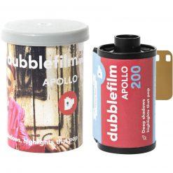 Dubblefilm Apollo 200 Color Negative Film, 35mm Roll Film, 36 Exposures