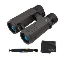 Sig Sauer ZULU7 10X42mm HDX Open Bridge Binocular - Graphite + Lens Cleaning Pen and Cloth