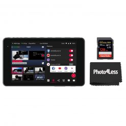 YoloLiv YoloBox Pro Portable Multi-Camera Encoder/Streamer/Switcher/Monitor/Recorder + SanDisk 128GB Extreme PRO UHS-I SDXC Memory Card
