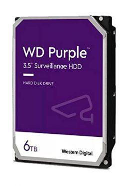 Western Digital 6TB WD Purple Surveillance Internal Hard Drive HDD