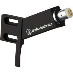 """Audio-Technica 1/2""""-Mount Headshell for Straight 4-Pin Turntable Cartridges - Black - Best for AT-LPW40WN"""