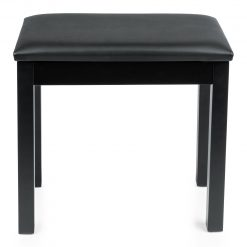 Gator Traditional Wooden Piano Bench (Black)