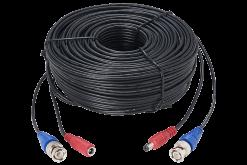 60ft (18m) Premium 4K RG59/Power Accessory Cable