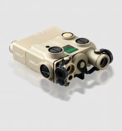 Steiner eOptics Civilian DBAL-A3 Dual Beam Aiming Laser and Illuminator - Desert Sand