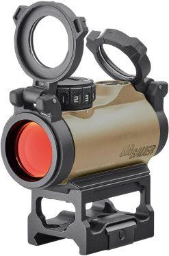 Sig Sauer ROMEO-MSR 1x20mm 2 MOA Red Dot Sight - FDE