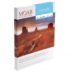 Moab Papers Entrada Rag Textured 300 17 x 22 [25 sheets]
