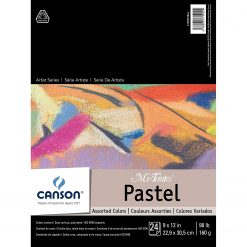 Canson Mi-Teintes 9x12 Paper Assorted 24 Sheets