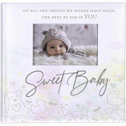 Malden 4x6 Sweet Baby Watercolor Album Holds 160 Photos