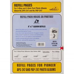 Pioneer Photo Albums 47APS Refill Pages for the APS-247 and PAP-247 Photo Albums (Pack of 5)