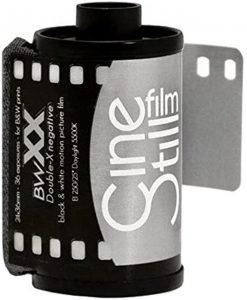 CineStill BWXX Double-X B&W Negative Film, 35mm Roll Film 36 Exposures
